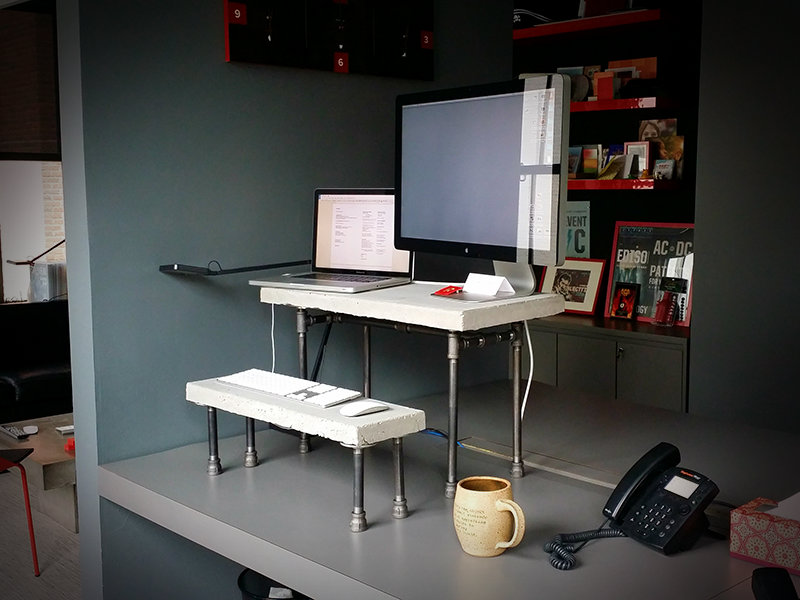How To Make The Ultimate Good Looking Tabletop Standing Desk