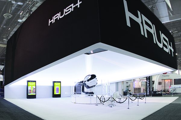 Exhibiting at CES 2016 - Krush Booth