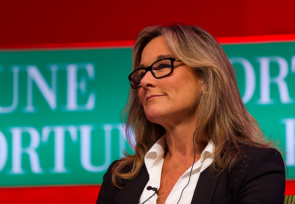 Angela Ahrendts serving on a panel at Fortune Global Forum, June 6, 2013; Photograph by Stefen Chow/Fortune Global Forum