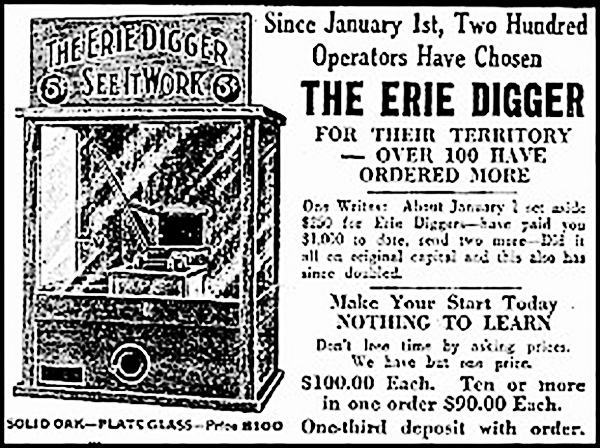 erie digger copy