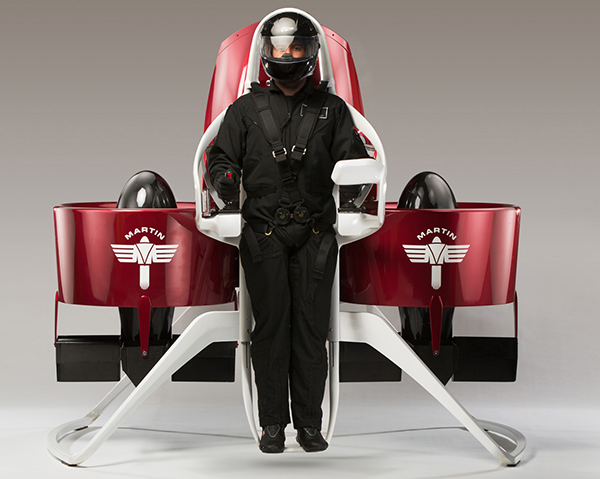 The Martin Jetpack offers hope that we may indeed have personal jetpacks in a few years.