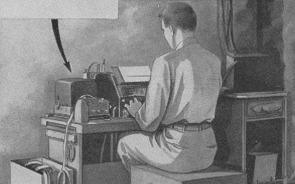 When World War II started and morse operators were scarce, Teletype machines became an integral component of the communications infrastructure.